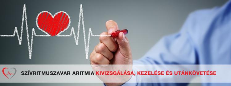 szívritmuszavarok és magas vérnyomás