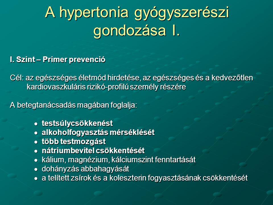 hipertinetikus típusú hipertónia kezelés
