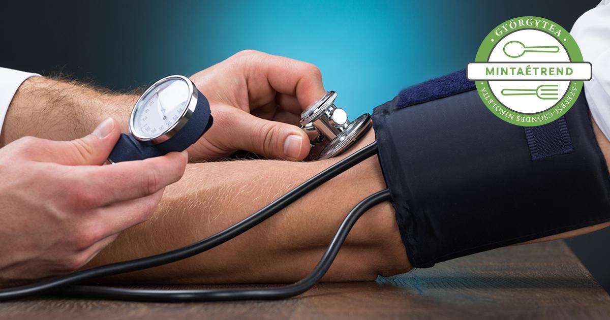 mit kell főzni magas vérnyomás esetén