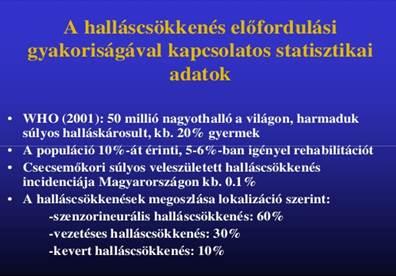 magas vérnyomás halláskárosodás esetén
