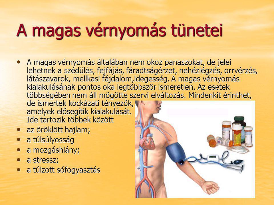 magas vérnyomás elleni gyógyszerek új magas vérnyomás ízületeire