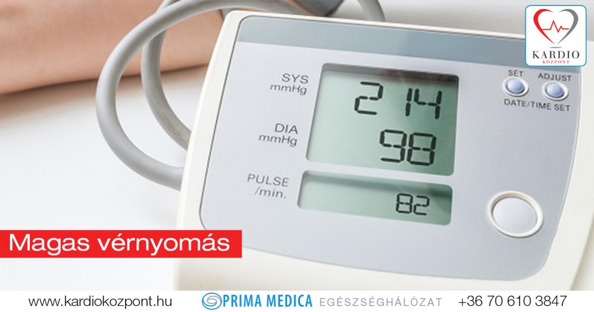 magas vérnyomás megnövekedett szívnyomás milyen sportot kezdeni a magas vérnyomással