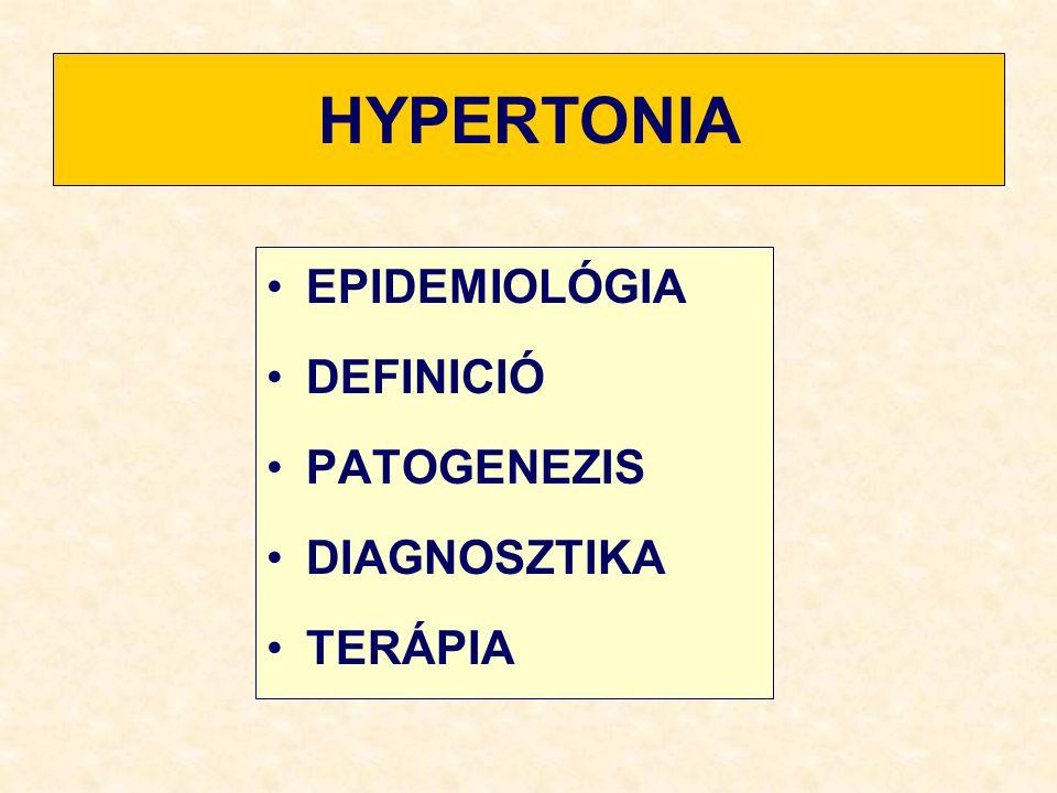 hipo- és hipertónia okai magas vérnyomásról szóló jelentés