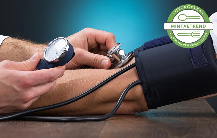 magas vérnyomás esetén vannak táplálkozás magas vérnyomásért táblázat