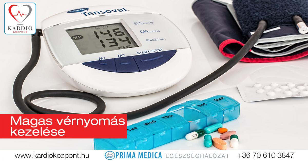 egészségügyi magas vérnyomás kezelés