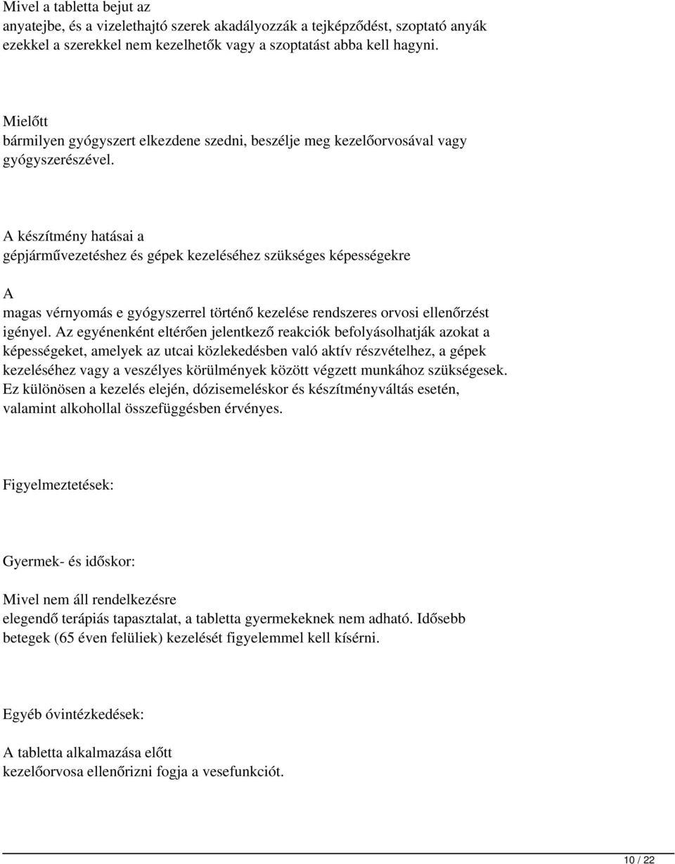 MILURIT mg tabletta - Gyógyszerkereső - Hácafa.hu