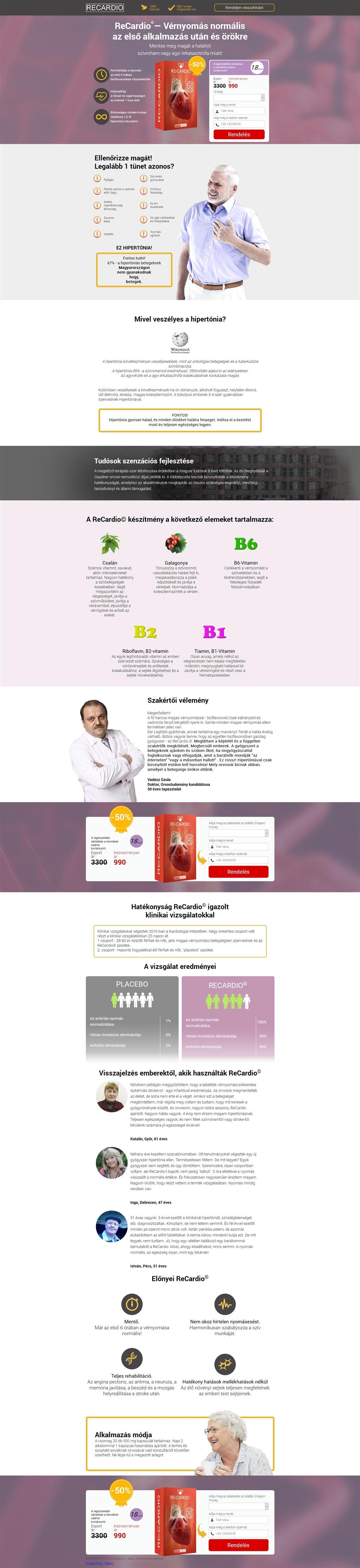 aritmia hipertónia gyógyszerek