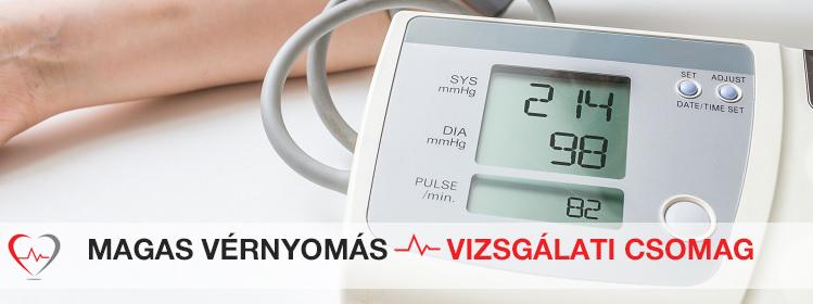 magas vérnyomástól és 150 betegségtől