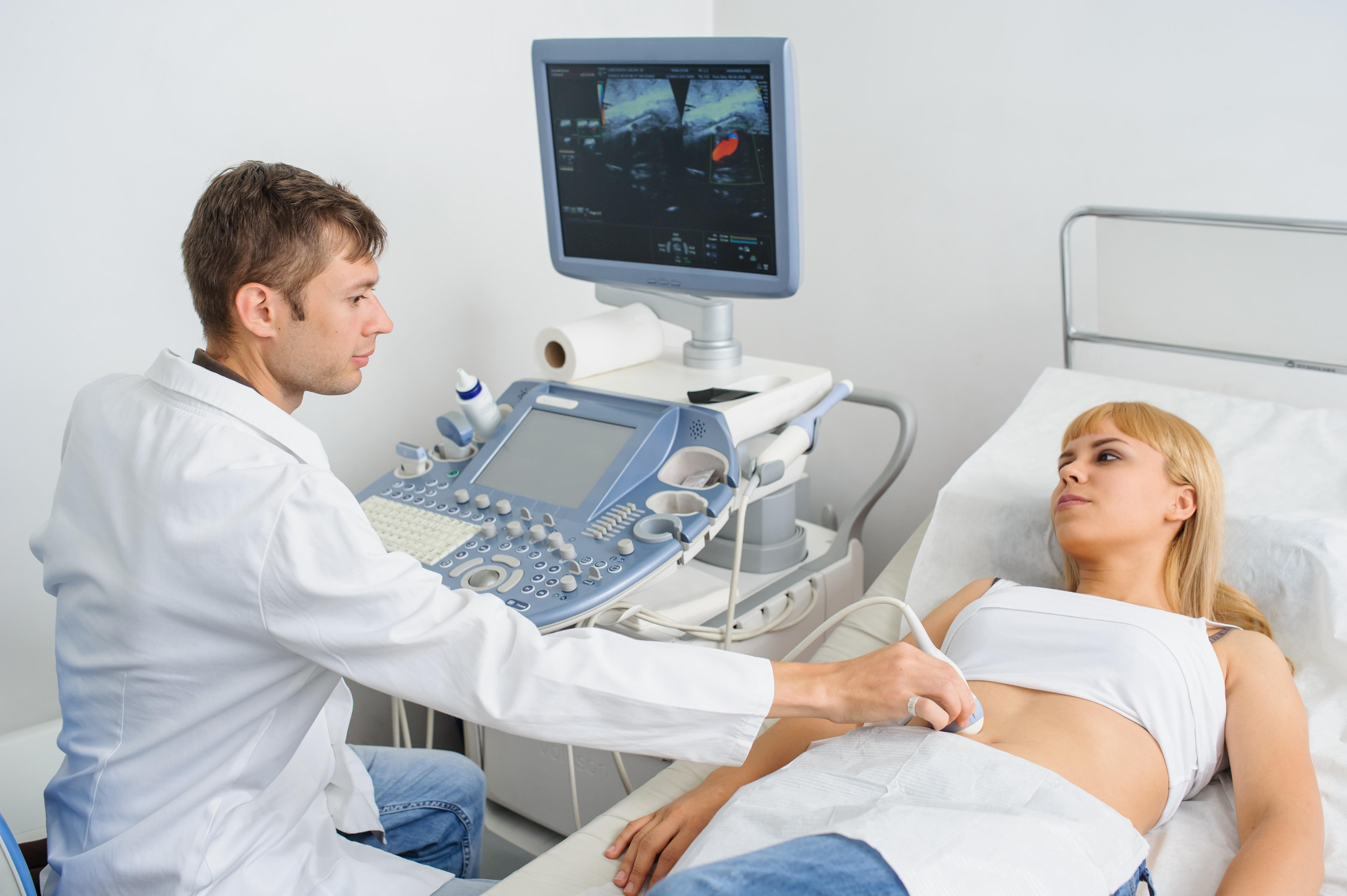 a hasüreg ultrahangja magas vérnyomással