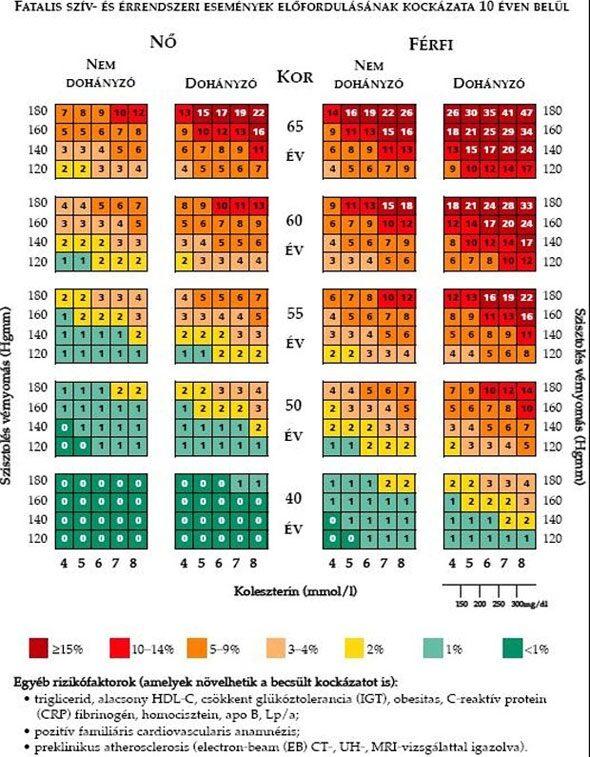 leggyakrabban magas vérnyomást figyelnek meg a hipertónia propedeutikai története