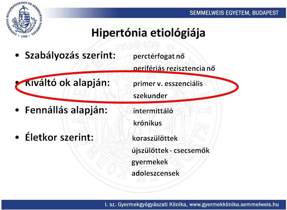 hipertónia hipotalamusz