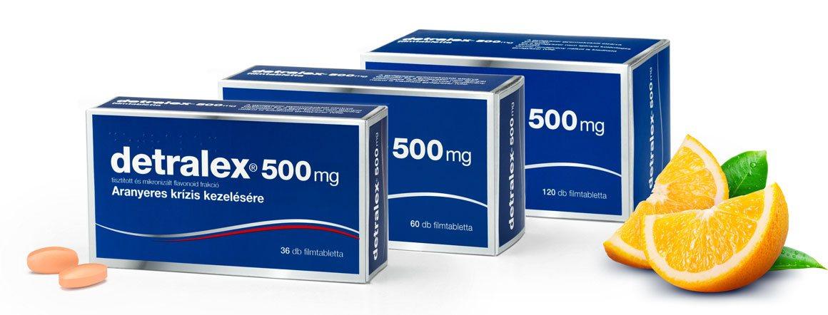 Detralex: ellenjavallatok és mellékhatások nem befolyásolják a hatékony kezelést